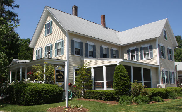 The original Victorian residence has been preserved.